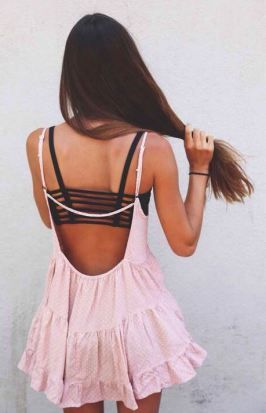 With an Exposed Back