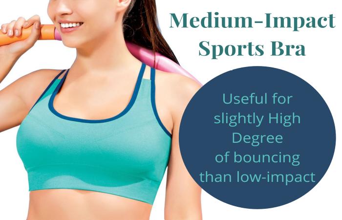 Medium Impact Sports Bra